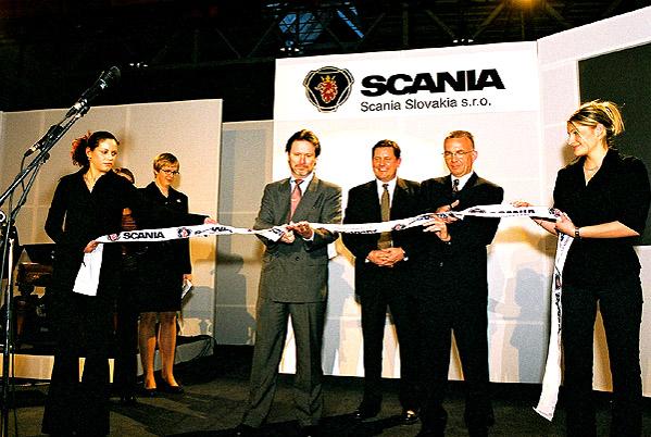 Scania zakládá vlastní dceřinou společnost na Slovensku