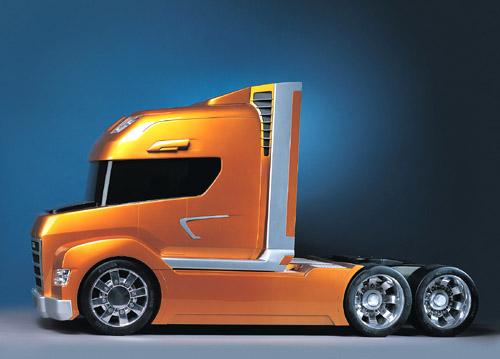 Scania STAX – vývojová studie nákladního vozu skapotovaným motorem