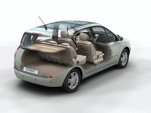 Renault Scénic II – 5 hvězdiček v testech Euro NCAP