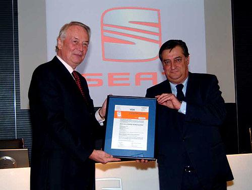 Španělská automobilka SEAT dosáhla certifikaci podle norem VDA 6.1