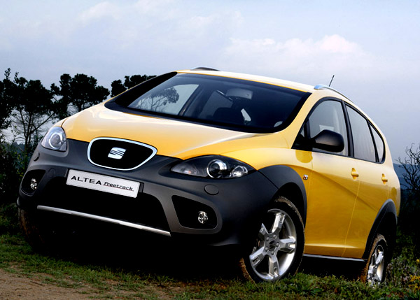 SEAT Altea Freetrack 2.0 TDI se 103 kW již v prodeji