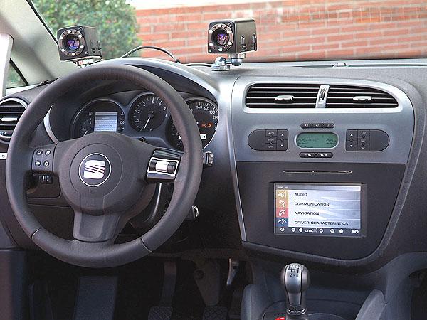 Nový přístup vbezpečnosti - Inteligentní prototyp SEAT León