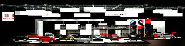 SEAT vystavuje na současném pařížském autosalonu na ploše téměř 1500 čtverečních metrů