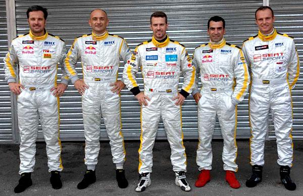 SEAT na World Touring Car Championship 2008