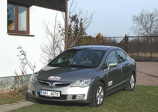 Nová Honda Civic sedan v testu redakce