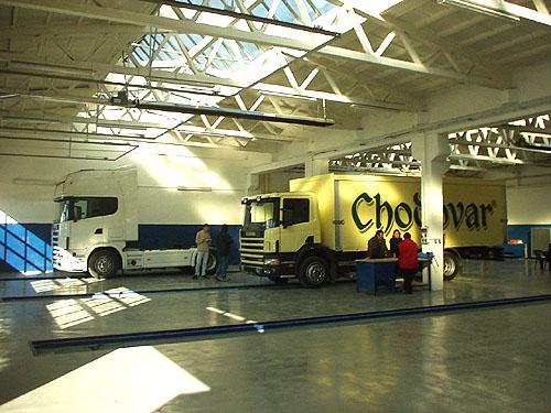 Scania rozšiřuje svoji servisní síť