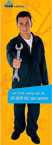 ČSOB Leasing předal zákazníkům poukazy na servis vhodnotě 13 milionů korun