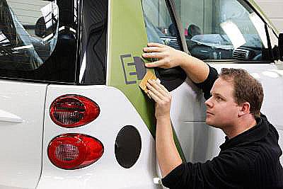 Daimler AG zahájil vlotrinském závodě Hambach výrobu vozu smart fortwo electric drive (ed).