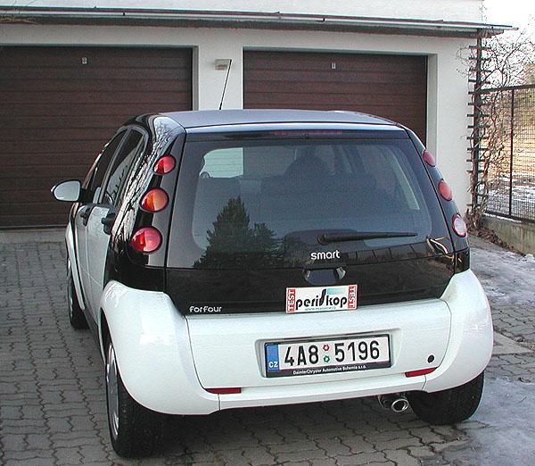 Čtyřdveřový smart forfour s benzinovým motorem 47 kW v testu redakce