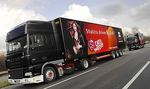 SEAT na turné se světoznámou zpěvačkou Shakirou