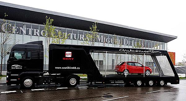 Nový sportovní design nového modelu SEAT Ibiza automobilka představí v 17 evropských městech