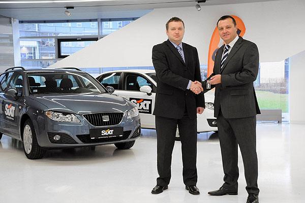 Vroce 2009 dodal SEAT společnosti SIXT celkem přes 100 vozů