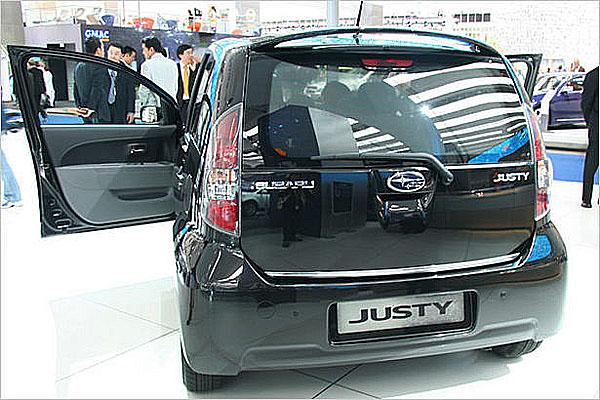 Zcela nové Subaru Justy představeno na probíhajícím autosalonu ve Frankfurtu