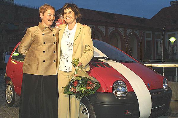 RENAULT a TATIANA již podruhé, aneb ženy, vozy , móda