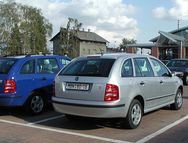 Škoda Fabia Combi byla 2. října oficiálně uvedena na český trh