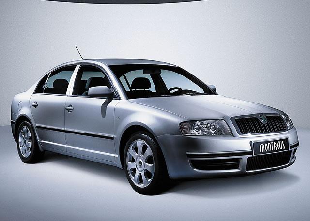 Škoda představila vŽenevě svou studii nového velkého vozu -Montreux