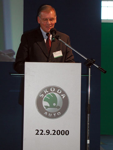100 let nářaďovny Škoda Auto
