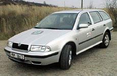 Škoda Octavia Combi 4x4 - první škodovka s pohonem všech kol