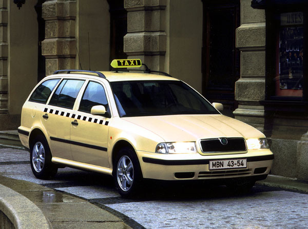 Škoda Octavia pro taxislužbu
