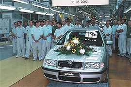 Škoda Auto vyrobila již 750 000 vozů Škoda Octavia