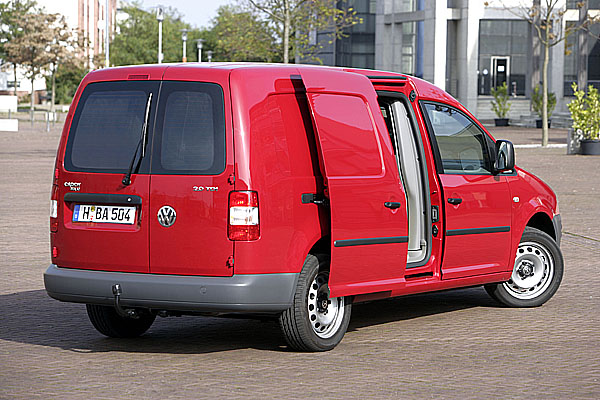 Nový Volkswagen Caddy Maxi skříňový vůz