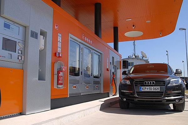 V Koperu ve Slovinsku první bezobslužná čerpací stanice