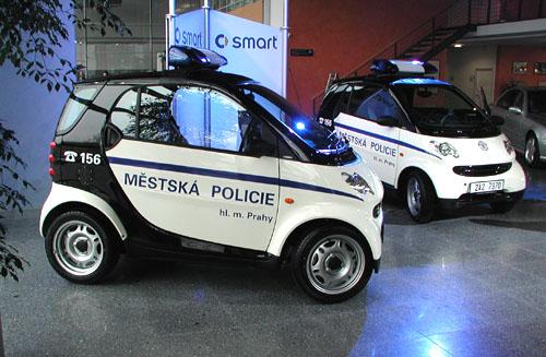 smart pro pražské strážníky