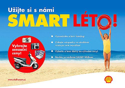 Společnost Shell pořádá mimořádnou akci na léto a na prázdniny nazvanou SMART LÉTO