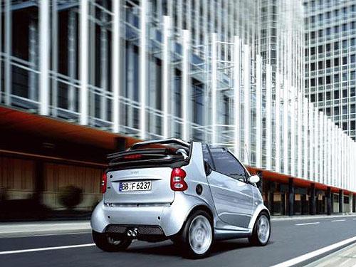 smart city-coupé a smart cabrio vmodelovém roce 2003