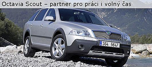 Nová Škoda Octavia Scout – partner pro práci i volný čas