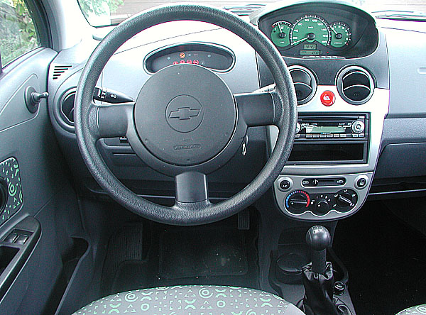 Pětidveřový Chevrolet Spark v testu redakce