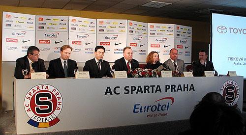 Toyota Motor Czech hlavním partnerem fotbalového klubu AC Sparty Praha