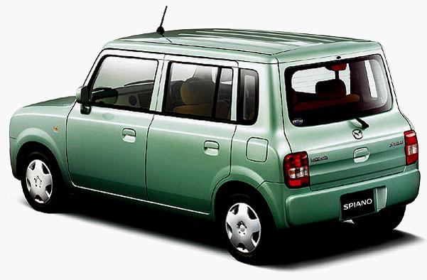Mazda Motor Corporation uvedla do prodeje na japonském trhu nový mini-vůz Spiano