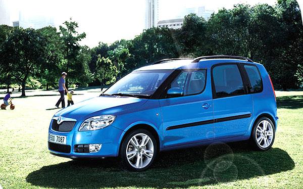 """Škoda Roomster – """"Rodinný automobil roku 2006"""""""