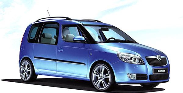 Závazné objednávky na nový vůz Škoda Roomster