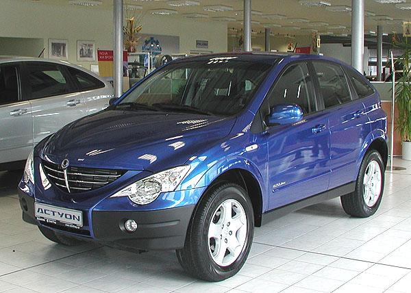 Nový model SsangYong Actyon byl uveden vpátek 10. listopadu 2006 na český trh