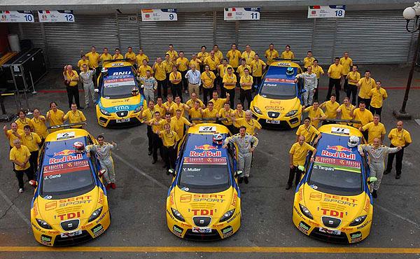 Poslední letošní závod World Touring Car Championship