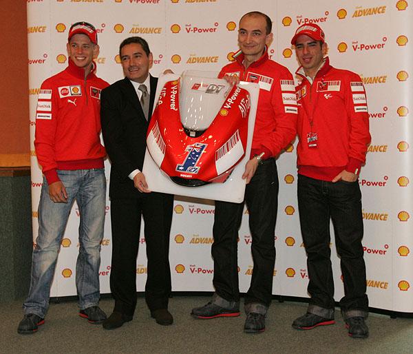 Společnost Shell obnovila své technické partnerství s Ducati
