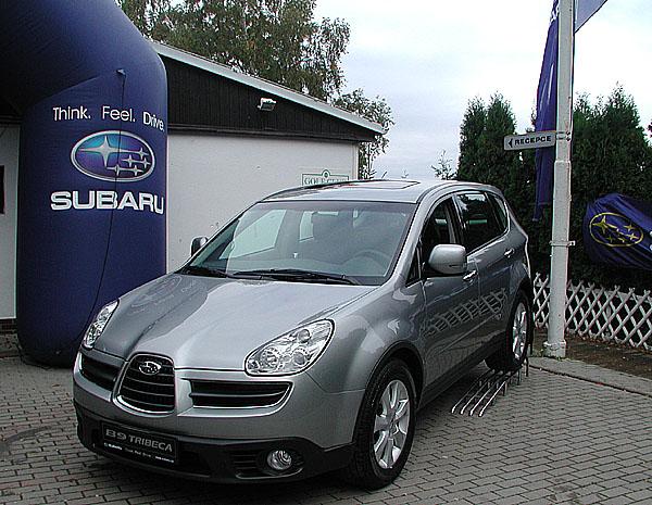 Subaru vČR nový prodejní rekord vroce 2006