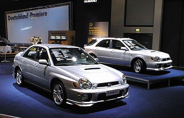 Subaru Impreza nové generace