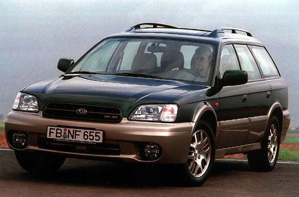 Subaru Outback H6-3.0 snovým šestiválcem
