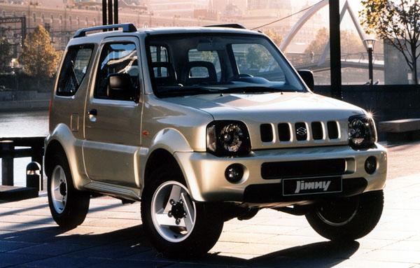 Suzuki Jimny JLX: malý lehký off-road