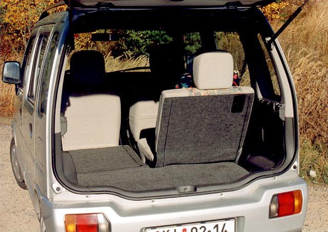 Suzuki Wagon R+: Microvan roku 1999