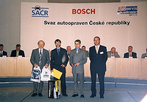 Špičkovou úroveň servisní sítě SEAT potvrdily výsledky soutěže SAČR