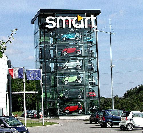 Prohlédl jsem si výrobní závod ve francouzském Hambachu, kde se vyrábí automobily Smart