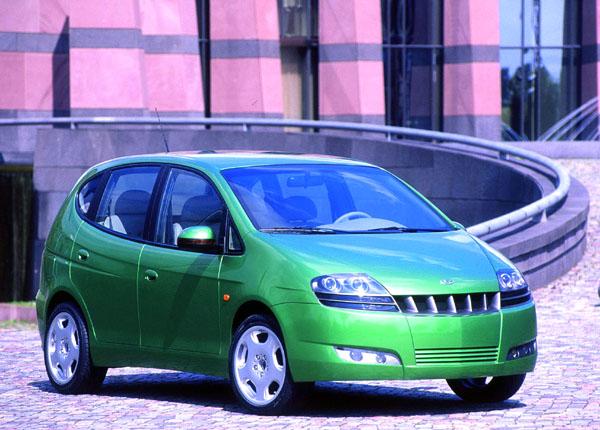 Daewoo Tacuma: Velkoprostorový minivan