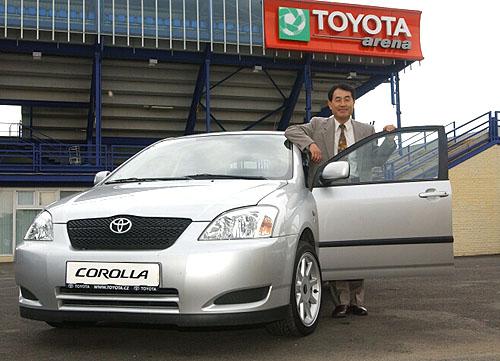 Na fotbal do Toyota Areny !