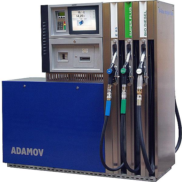 Natankovat pohonné hmoty uvýdejního stojanu a platbu provést kartou