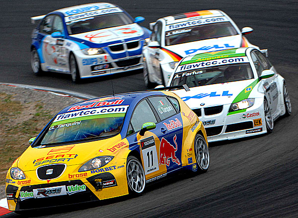 SEAT v Nizozemsku na World Touring Car Championship 2007