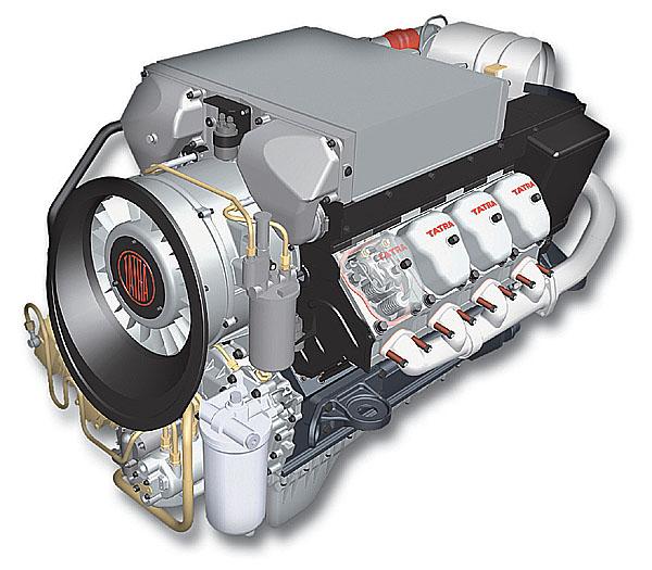 TATRA ON AIRTM - jediný vzduchem chlazený motor EURO 5 na světě